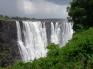 Storm at Victoria Falls