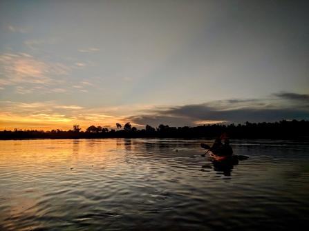 Paddling the Nile